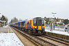 12th Jan 10:  2U39, 13.59 Waterloo to Windsor & Eaton Riverside at Datchet formed of 450108 leading 450017