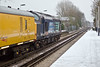 12th Jan 10:37610 leads on the return to Waterloo through Datchet