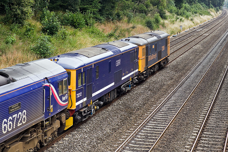 7th Jul 10:  73212 has now had  the GBRF logos removed