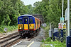 20th Jul 10:  455713 arrives at Bookham as 2D23 the 10.39 from Waterloo to Guildford