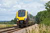 17th Jul 10:  Charging south through Grazeley are 22021 & 220007 working 1O10 the 08.27 from Manchester Piccadilly to Bournemouth