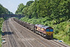 4th Jun 10:  66091 works 6Z52 Spoil empties from Appleford to Bow through the Sonning Cutting-Duffield Rd