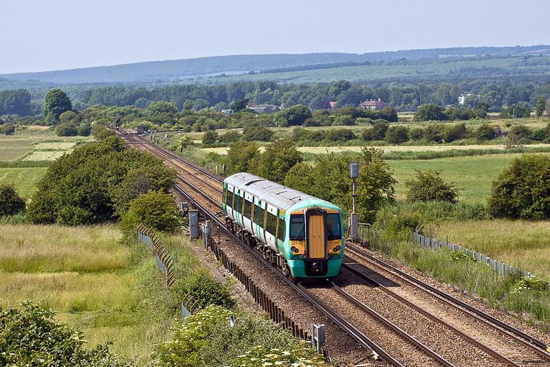 28th Jun 10:  377313 works 2P43 the 15.11 from Littlehampton to Bognor Regis away from Littlehampton