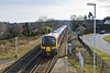 16th Mar 10:  Entering Bagshot station is 450075 and the 14.00 from Guildford to Ascot via Aldershot