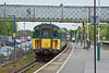 20th May 10:  1J38 the 15.14 from Lymington Pier arrives at Brockenhurst