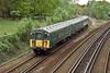20th May 10:  The Lymington Flyer  joins the main line for the short run into Brockenhurst