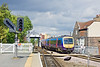 11th May 10:  170301 handles the First TransPennine Express service 1K19 the 14.35 from Hull to Manchester Piccadilly. Captured here having just crossed the swing bridge at Selby