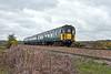 20th May 10:  Shortly after entering the Lymington Branch 3 CIG 1498 runs through New Forest heath land.   1J27 left Brockenhurst at 12.27