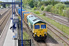 11th May 10:  Entering  Hatfield & Stainforth station  is 66610 working 6M06 the empty Binliner from Roxby to Northendon