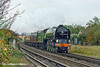 13th Now 10:  Charging away from Egham os 60163 'Tornado' with VSOE Surrey Hills Luncheon Express