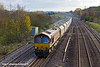 23rd Nov 10:  66194 runs through Lower Basildon with 6B35 from Hayes to Moreton on Lugg