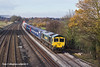 23rd Nov 10:  Catching a little week afternoon sun at Lower Basildon is 66532 working to Southampton on  4O54 from Leeds