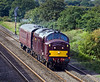 30th Sep 10:  37685 plods up the Relif towards Iver with a coach move (5Z37) from Kidderminster to Southall