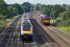 30th Sep 10:  Bringing a coach from Kidderminster is WCR 37685.  The HST from Cardiff (1L51) was running at virtually the same speed as the 37. ie bloody slowly !!  There was much cursing!