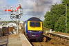 6th Sep 10:  Darkening the sky as it departs from St Erth is the 17.39 Penzance to Paddington via Bristol Temple Meads