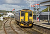 6th Sep 10:  Despite what the signal indicates 150243 is arriving at St Erth  with the 16.57 from St Ives