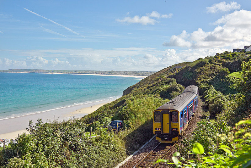 8th Sep 10:  150263 departs from Carbis Bay and heads for St Erth