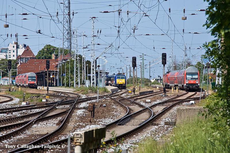 6th Jun 11:   Platforms 3, 4 & 5 Warnemunde