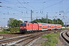 2nd Jun 11:  143 564-3 arrives at Platform 4 at Warnemunde with a shuttle service from Rostock