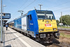 9th Jun 11:   The driver walks back to his cab ready to take 146 520-2 back to Leipzig HBf