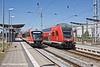 4th Jun 11:  642048 waits at Rostock with an RB12 serice to Graal-Muritz