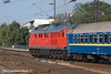 10th Jun 11:    Ludmilla 234 278-3 takes the Russian sleeper car train away to the west