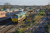 27th Nov11:  66551 heads 6Y33 from Caldicott to Fairwater Yard through Severn Tunnel Junction with 66549 on the rear