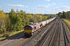 19th Oct 11:  66039 is on the point of 6E55 oil empties from Theale to Lindsey