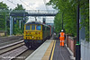 30th Jun 11:  4L75 is the Crewe to Felixstowe liner powered by 86632 and 86612 captured at Atherstone in awful light