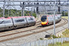 30th Jun 11:  Pendolinos pass just south of Lichfield