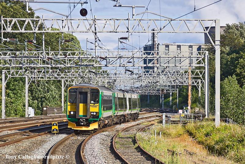 30th Jun 11:  153365+170504 arrive at Rugeley Trent Valley with the 17.07 from Birmingham New Street