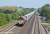 20th Apr 11:  59204 reaches Breadcroft Lane with 7C77 from Acton to Merehead