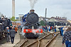 "2nd Apr 11:  Newly restored GWR 4-6-0 6024 ""King Edward I"