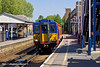27th Apr 11:  Leaving Waterloo for Shepperton at 13.12, 455854 arrives at Hampton