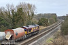 4th Feb 11:  66079 is between Theale and Southcote Junction with 6M20 from Whatley to St Pancras