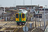 15th Jan 11:  The 13.25 from Seaford in the hands of 313217 arrives at Newhaven Harbour station