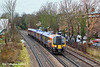 12th Jan 11:  450564 runs away from Kew Bridge station on the 11.33 from Weybridge to Waterloo