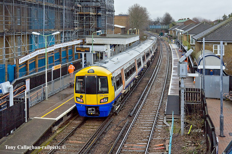 12th Jan 11:   Standing at South Acton is 378226 forming the 10.44 from Richmond to Stratford
