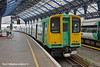 21st Jul 11:  313220 sits in Brighton's platform 2 ready to depart as the 11.03 to Portsmouth Harbour