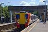 3rd Jul 11:  Arriving at Sunningdale is 458024 & 007 on 2C27 the 10.38 from Waterloo to Wokingham