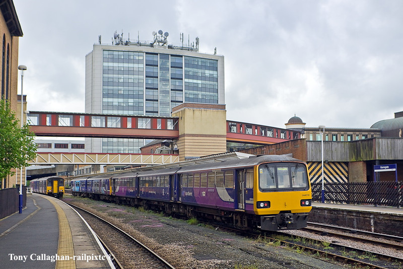 8th May 11:  144018 is stabled in the centre road at Harrogate