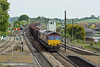 5th May 11:  66004 brings loaded iron ore for Stanton from Immingham past Barnetby East Signal Box