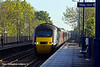 4th May 11:43304 heads the 06.46 from York to Plymouth through Thurnscoe on a frosty May morning
