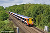 10th May 11:  458009 and 458024 are at Amen Corner approaching Bracknell with 2C34 the 11.42 from Reading to Waterloo