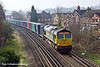 2nd Mar 11:  Seen entering Egham is 66570 working 4M85 from Southampton to Crewe