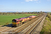 23rd Mar 11:  With 59202 DIT 66068 works 6V38 the MoD service from Marchwood to Didcot away from Cholsey