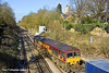 19th Mar 11:  At Virginia Water is 66143 working 4M15 from Southampton Western Docks to Bescot