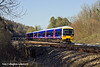 7th Mar 11:  165110 rushes away from Pangbourne with the 12.27 from Paddington to Oxford