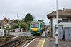 26th Sep 11:  171724 hurries through Pevensey and Westham station with 1G21 the 10.09 from Brighton to Ashford.  The promissed sun failed to materialise until mid afternoon by which time I was well on my way home to Bracknell !