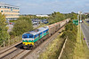 27th Sep 11:  59005 leaves Bracknell with 6V67 from Sevington to Merehead.  This service last ran in May 2011